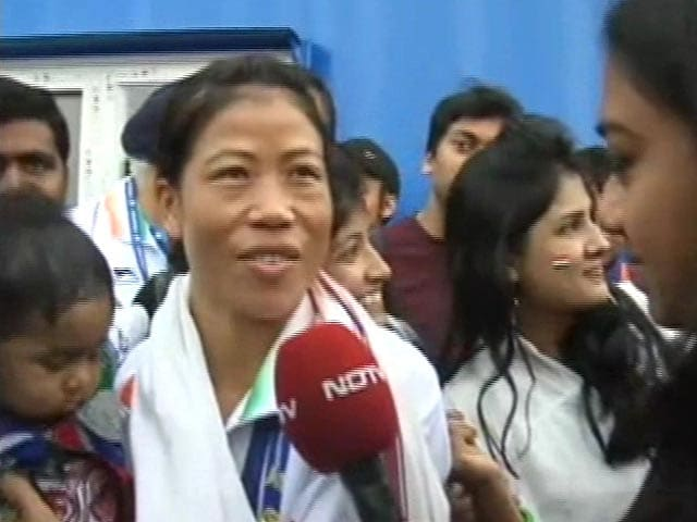 Video : No One Remembers a Loser, Says Mary Kom After Asian Games Gold