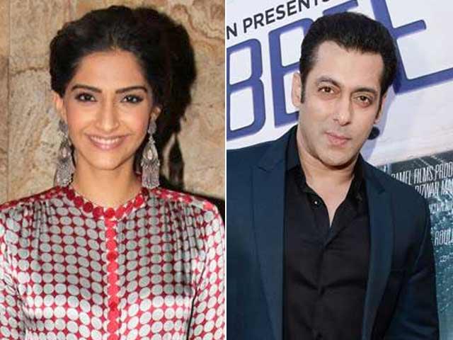 Sonam Kapoor Receives Fitness Tips from Salman Khan