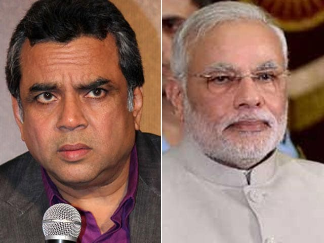 Paresh Rawal Gets Vote of Confidence from PM Modi?