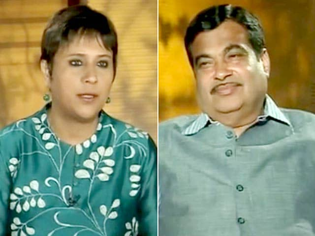 Video : Will Say No to Chief Minister's Post: Nitin Gadkari to NDTV