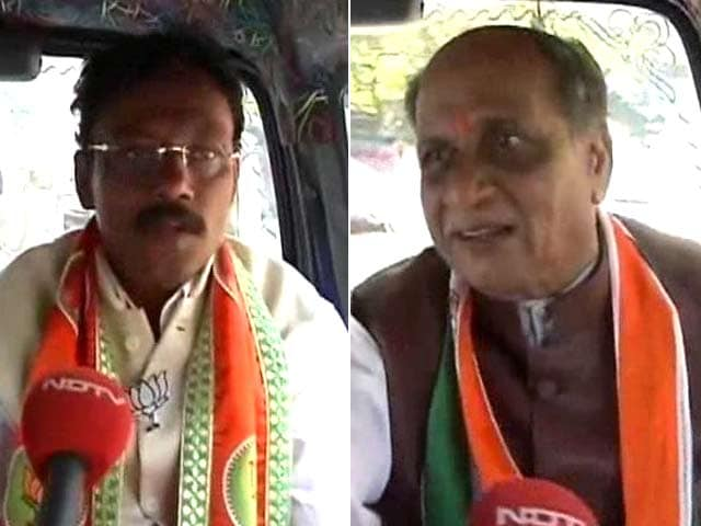 Video : Borivali: Congress' Ashok Sutrale Takes on BJP's Vinod Tawde
