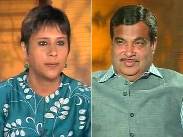 Video : 'If Nawaz Sharif Can be on Doordarshan, Why Not Mohan Bhagwat?' Nitin Gadkari to NDTV