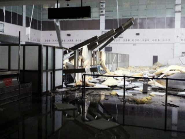 Videos : हुदहुद से तबाह हुआ विशाखापट्टनम एयरपोर्ट