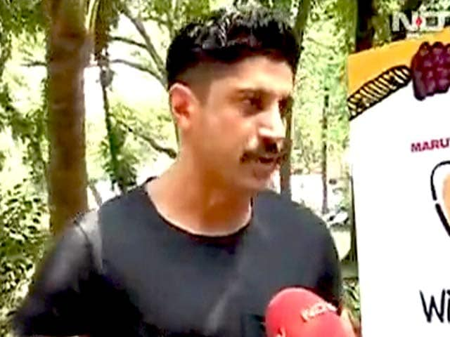 Video : Farhan Akhtar Gains Eight Kilos for His Next Role