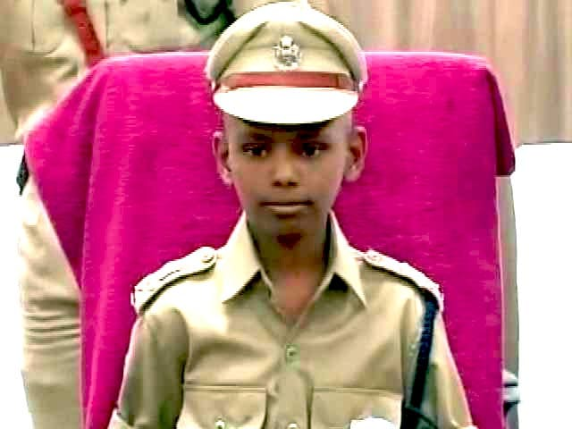 Video : Terminally Ill Boy is Hyderabad Police Chief For a Day