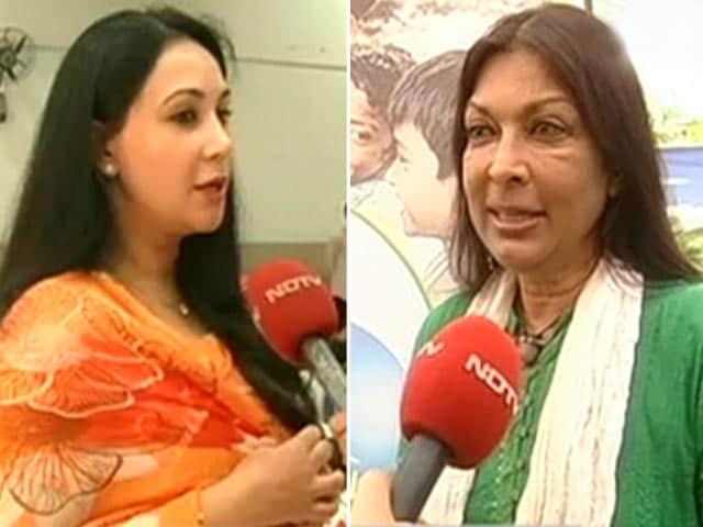 "Video : Princess Diya Kumari and Mallika Sarabhai's Support to the ""Banega Swachh India"" Campaign"