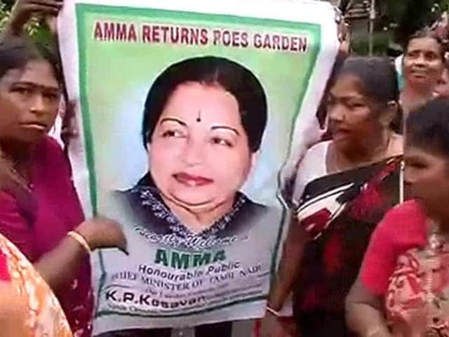 Video : Jayalalithaa Gets Bail, Likely to Leave Bangalore Prison Tomorrow