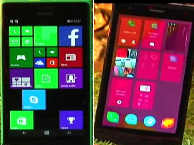 Video : Three Lumias and a Rebel Phone