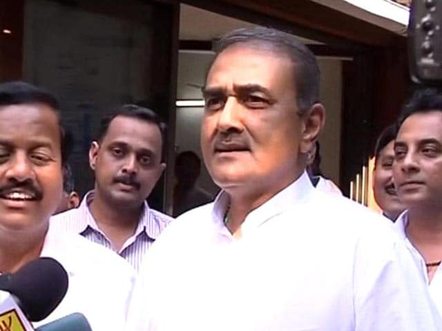 Video : NCP to Give Outside Support to BJP: Praful Patel