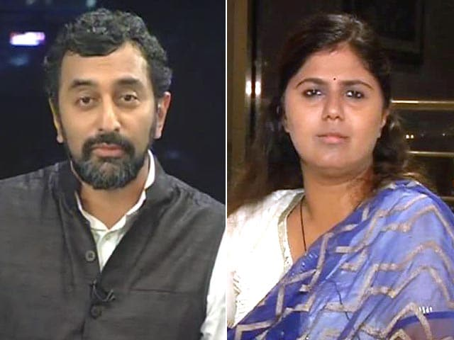 Video : All of Us Are Equally Fit to be Chief Minister: Pankaja Munde to NDTV