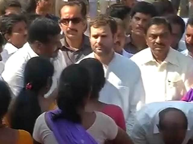 Video : Congress Faces Political Storm as Rahul Gandhi Visits Cyclone-Hit Areas