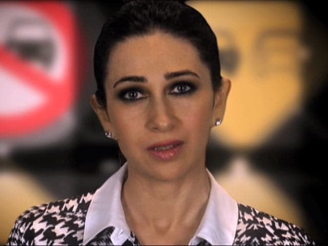 Video : Don't Drink and Drive, Think and Drive: Karisma Kapoor