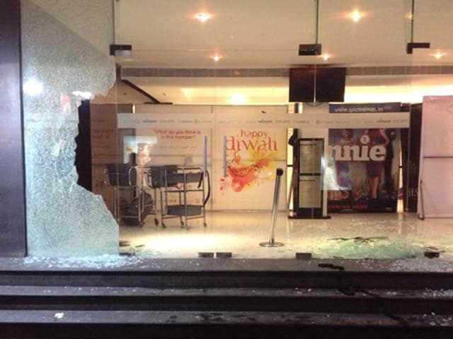Video : Chennai Theatre Vandalised for Screening Vijay's Controversial Film
