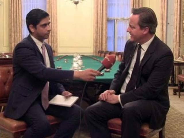 Video : Delighted Modi Is Leading India: British PM David Cameron to NDTV