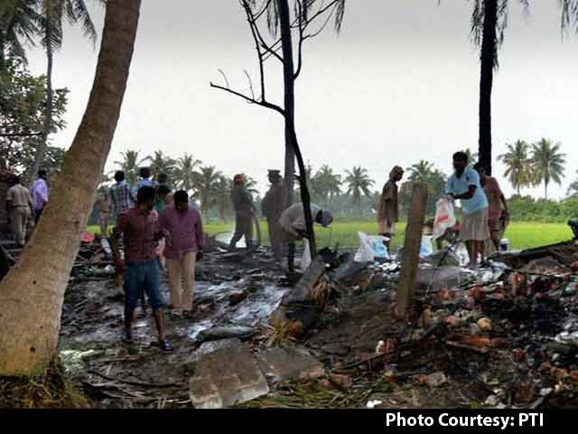 Video : 14 Women Among 17 Killed in Fire at Andhra Pradesh Cracker Factory