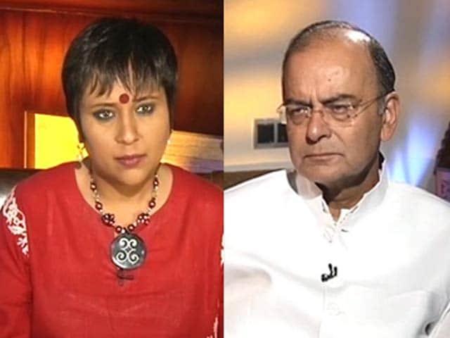 Video : Black Money Names Will Embarrass Congress: Finance Minister Arun Jaitley to NDTV