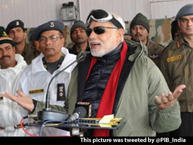 Video : PM Modi Tells Jawans in Siachen: You Make A 'Happy Diwali' for India Possible