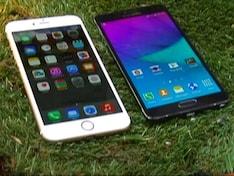 सेल गुरु : सैमसंग गैलेक्सी नोट-4 बनाम आईफोन 6प्लस