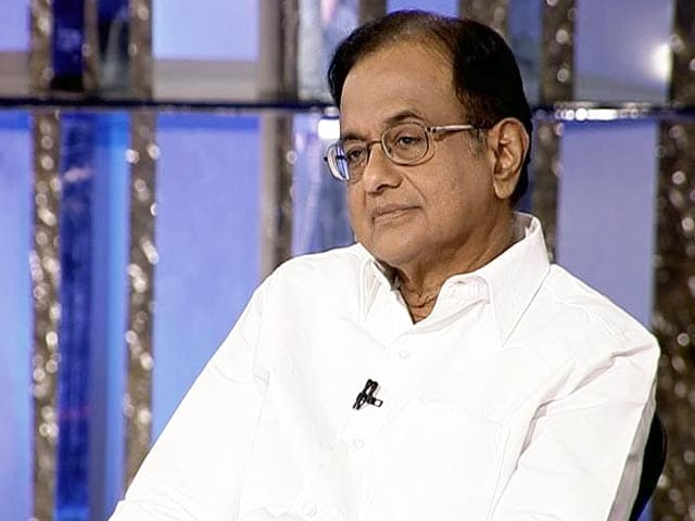 Video : Congress Won't be Embarrassed if 'Big Name' is on Black Money List: Chidambaram to NDTV