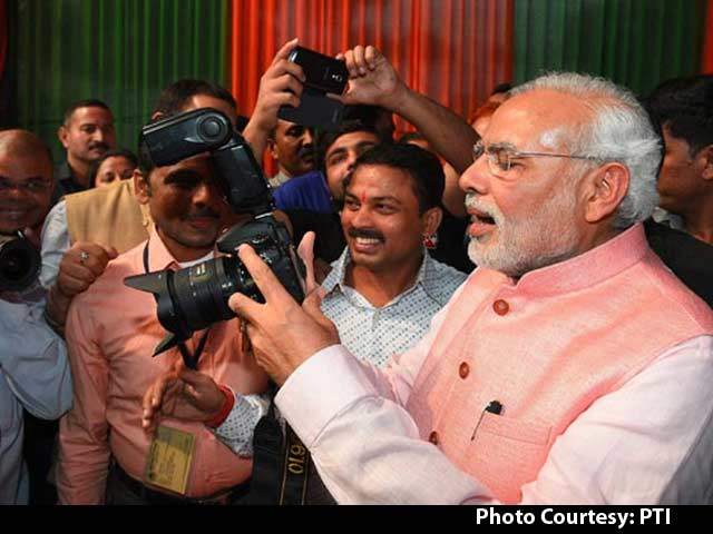Video : When Prime Minister Narendra Modi Turned Photographer