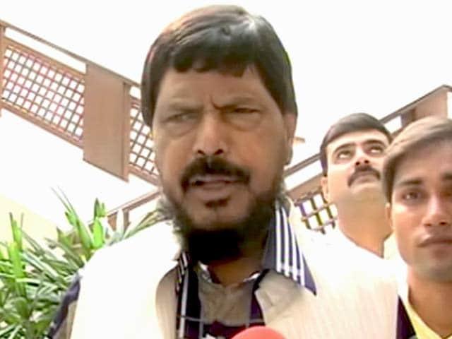 Videos : बीजेपी-शिवसेना को मिलकर बनानी चाहिए सरकार : अठावले
