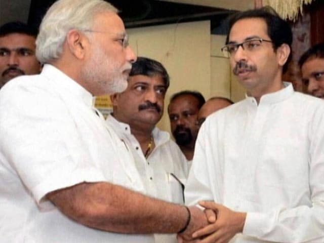Video : Shiv Sena Sweet Talks BJP Which Preps For Friday Swearing-In