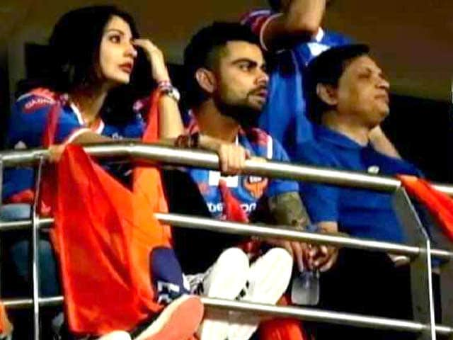 Video : Virat Kohli, Anushka Sharma Make Their First Public Appearance Together