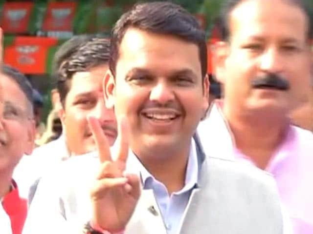 Video : Done. Devendra Fadnavis As Maharashtra Chief Minister