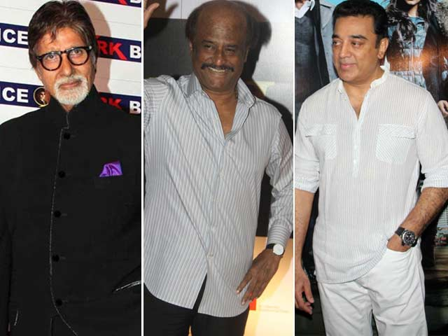 Amitabh Bachchan, Rajinikanth, Kamal Haasan To Come Under One Roof
