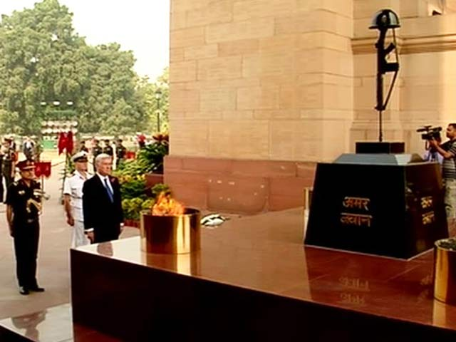 Video : UK Defence Secretary Honours Indian Soldiers Who Fought in World War 1