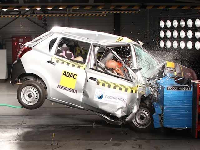 Video : NDTV Exclusive: Maruti Suzuki Swift and Datsun Go Fail Crash Tests