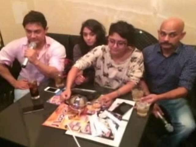 Aamir, Kiran, Ira's Tokyo Sojourn