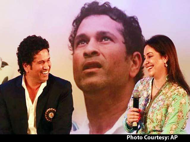 Video : Sachin Tendulkar Book Launch: Ajit, Anjali Speak on the Master Blaster