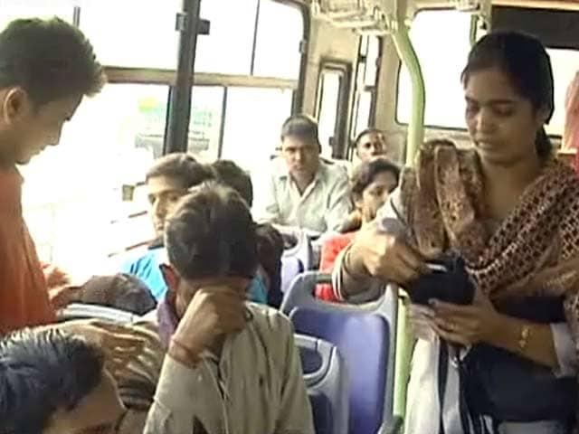 Video : दिल्ली की बसों में महिला कंडक्टर