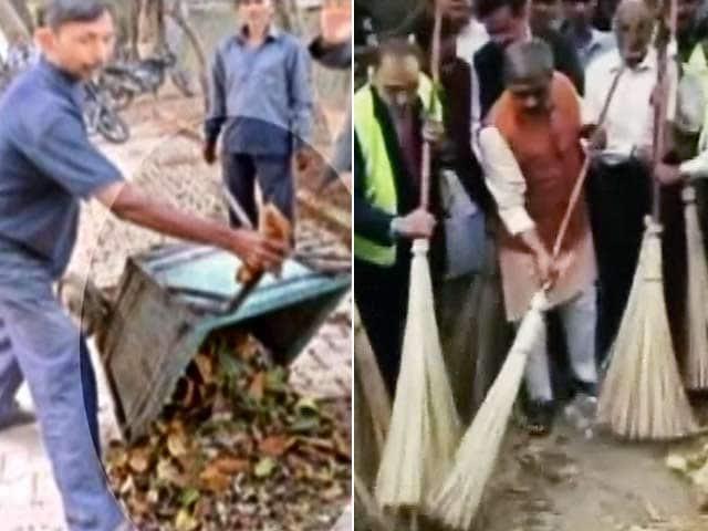 Videos : सतीश उपाध्याय पर लगे आरोप : कूड़ा फिकवाया, फिर हुई सफाई