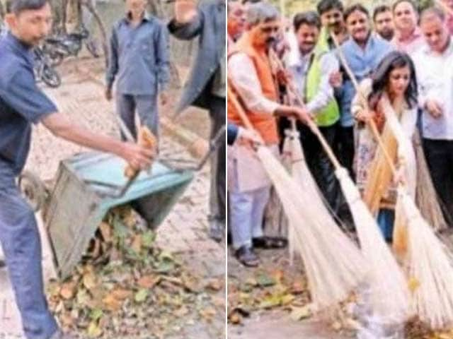Video : Trash Dumped for Clean-Up Drive; Delhi BJP Chief Says Was An Error