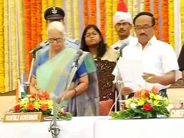 Video : Laxmikant Parsekar Sworn-In as Goa Chief Minister