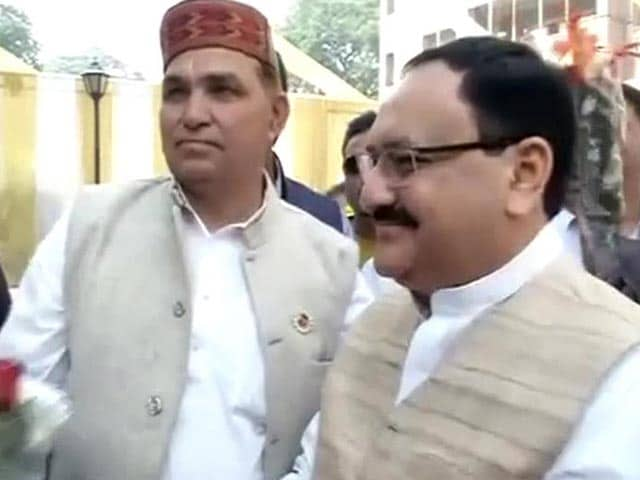 Video : Arvind Kejriwal's AAP Targets New Health Minister JP Nadda