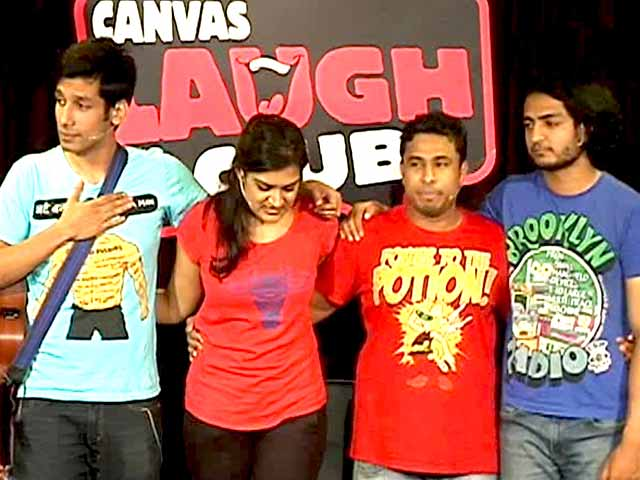 Video : Where There's a Comedy, There's a Comedian