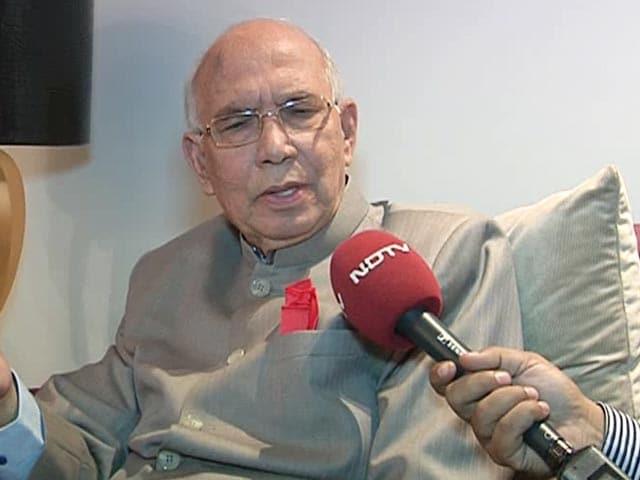 Video : Chidambaram Allowed 2G Scam: Former Law Minister HR Bhardwaj