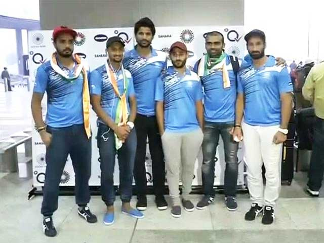 Video : India Hockey Team Returns After Triumphant Tour of Australia