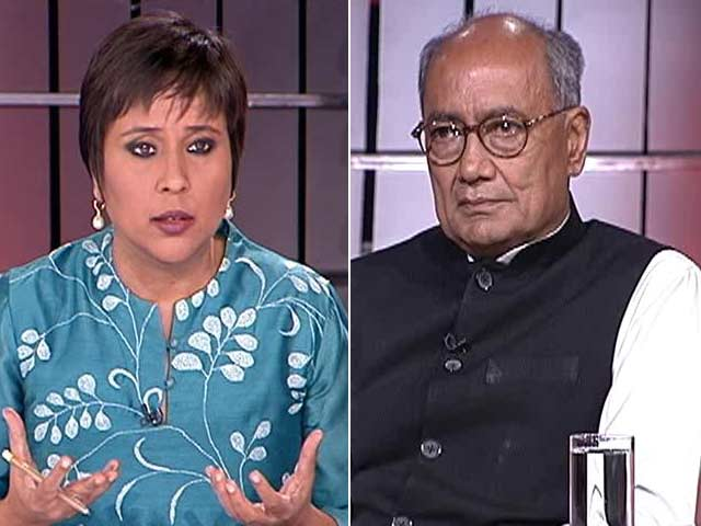 Video : Rahul Gandhi Must Lead From the Front: Digvijaya Singh to NDTV