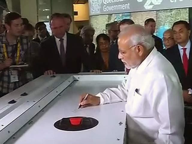 Video : Research is the Mother of Development: PM Modi Writes on Agricultural Robot in Brisbane