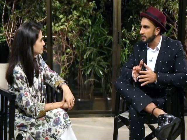 Video : Ranveer Singh: Tried to be the Best Co-Actor For Anushka in <i>Dil Dhadakne Do</i>