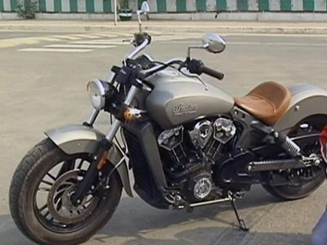Indian Scout Rumbles in to India