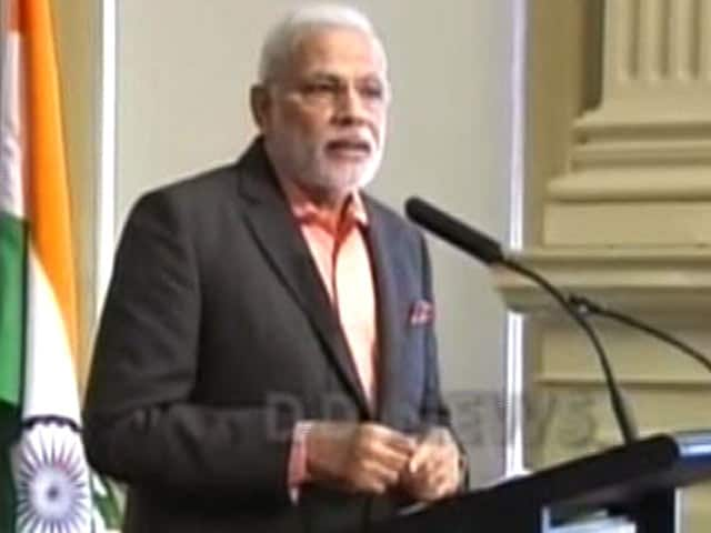 Video : You Will Begin to Find a Difference in India: PM Narendra Modi to Business Leaders in Brisbane
