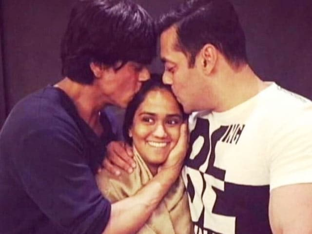 Arpita's Wedding Present, With Love From Shah Rukh and Salman Khan