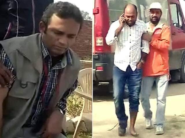Videos : बरवाला में पुलिस ने एनडीटीवी के मीडियाकर्मियों पर भी किया लाठीचार्ज