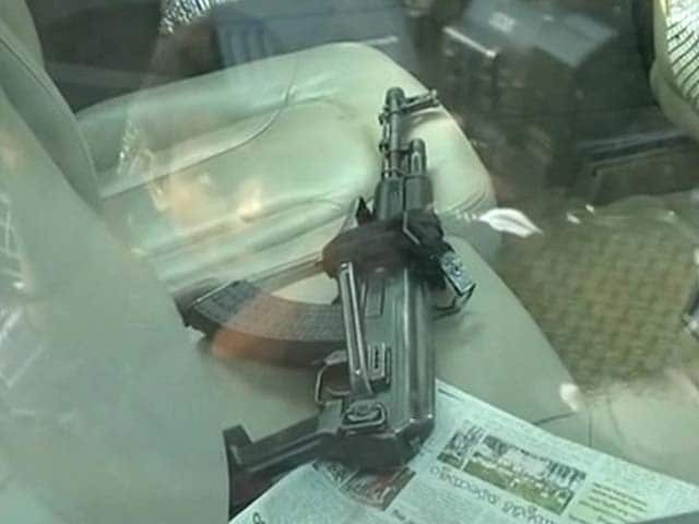Video : Man With AK-47 Tried to Kidnap Top Hyderabad Executive