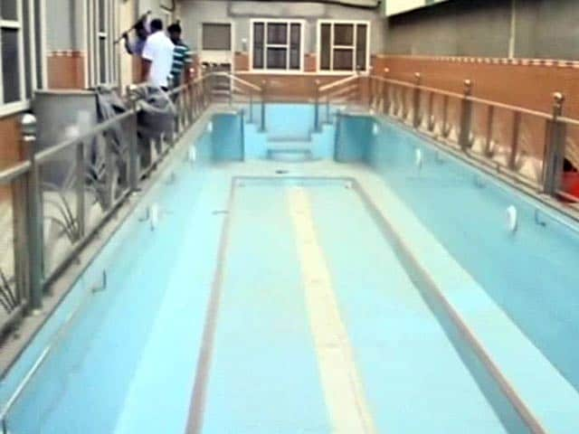 Video : Inside Rampal's Ashram, a Swimming Pool, Locked Doors